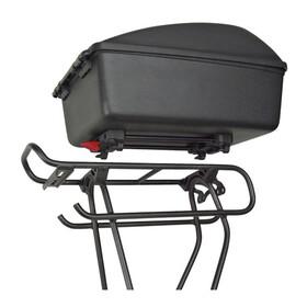 KlickFix Bike Box 12L für Racktime schwarz